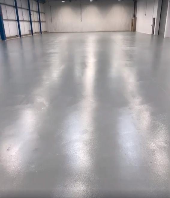 Clean Factory Floor